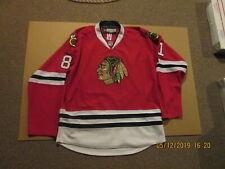 NHL Chicago Blackhawks Vintage #81 Marian Hossa Rbk CCM Size 54 Hockey Jersey