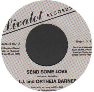 """Unreleased Modern Soul JJ & Otheia Barnes - Send Some Love -  7"""" Single Listen!"""