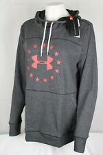 Under Armour Women's UA Freedom Microthread Hoodie Large 1305242 001