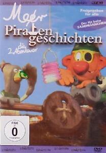 Meer PIRATENGESCHICHTEN -  die 2. Abenteuer KINDER-DVD NEU / Knet-Animation