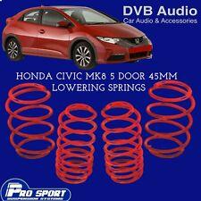 ProSport Lowering Springs for Honda Civic Mk8 5-Door 121584