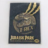 JURASSIC PARK III Vintage Memorial Medal Japan 2001 T-REX TYRANNOSAURUS