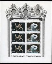 1993 MONACO BLOC N°61 DENTELE EUROPA xx