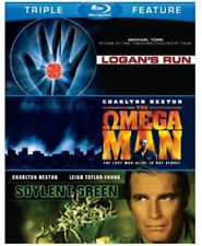 Soylent Green/Logan's Run/Omega Man (2013, Blu-ray New) BLU-