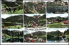 Jachenau Bayern Mehrbildkarte 1969 Walchensee Lenggries Niedernach Simelsberg