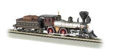 BACHMANN 51152 N SCALE SANTA FE 4-4-0 American Locomotive & Tender, NEW