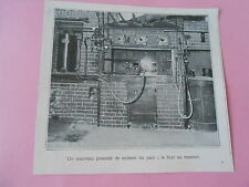 Un nouveau procédé de cuisson du pain le four au Mazout Image Print 1925