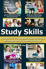 Study Skills : 4 Books in 1! the Complete Study Guide That Will Prepare You...