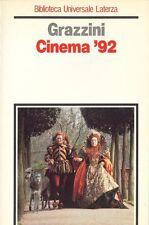 GRAZZINI Giovanni, Cinema '92