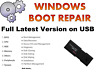 WINDOWS 10 7 8 XP VISTA BOOTABLE USB PC REPAIR RECOVERY LOST DATA ANTI VIRUS