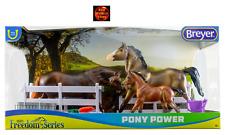 Breyer 62200 Pony Power Classic Set of 3 Welsh Pony Horse Toy Models -New in Box