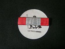 A0042-Barrette rappel Croix des TOE OPérations EX. - French War Cross ribbon