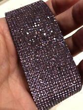 Violet Purple Crystal Bracelet Bangle made with Genuine Swarovski Elements Used