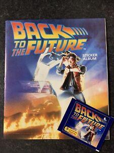 Panini - Back To The Future Sticker Album 100% Complete - VG Condition RARE
