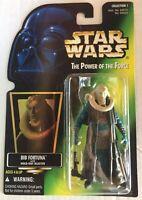 Star Wars BIB FORTUNA POTF Power Of The Force Figure Hasbro BRAND NEW ROTJ 1996