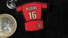 Fusball Pin Badge Trikot Manchester United Manu England 16 KEANE