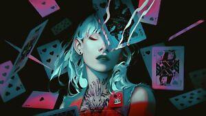 "24""x36"" Fantasy Girl Canvas Art Poster Wall Prints Paintings Decor"