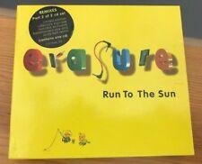 Erasure - Run To The Sun LIMITED EDITION COLLECTORS SLIPCASE 2x CD Singles