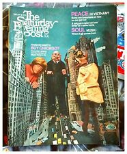 The Saturday Evening Post Feb 8 1969! Anybody Want To Buy Chicago? Peace Vietnam
