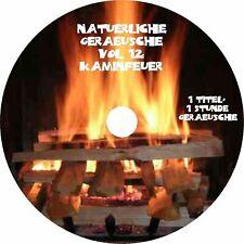 Natürliche Geräusche 12 KAMINFEUER Natur Kamin Feuer Entspannung Entspannen CD