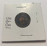 1898 Indian Head One Cent Penny Estate Find Collectors Coin Exact Coin Shown