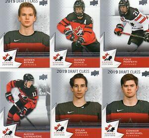 2020-21 Upper Deck Team Canada Juniors Complete Set 1-100