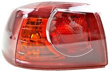 Tail Light Outer for Mitsubishi Lancer 09/07-2009 New Left CJ Sedan Rear Lamp 08
