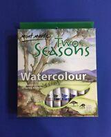 Mont Marte Watercolour Paint Set Two Seasons 18X12ml Tubes Spring & Autumn Art
