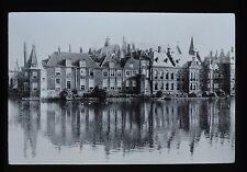 Dutch Glass Magic Lantern Slide The Binnenhof The Haig Netherlands