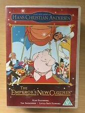 THE EMPEROR'S NEW CLOTHES ~ Hans Christian Andersen Animated Kids Film UK DVD