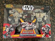 New listing star wars transformers millennium falcon