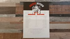 MANCHESTER UTD V WREXHAM FA YOUTH CUP 2ND ROUND SINGLE SHEET PROGRAMME 1996