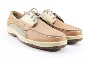 Sperry Top-Sider Men's Billfish Tan/Beige Boat Shoe Preowned