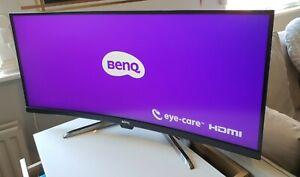 BenQ EX3501R 35 Inch Ultrawide 21:9 UWQHD (3440 x 1440) 100Hz HDR Curved Gaming