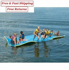 Floating Oasis Water Pad Blue/Yellow