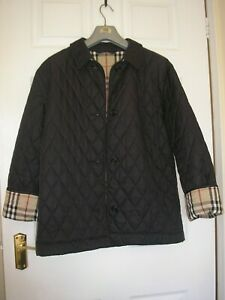 BURBERRY  QUILTED JACKET 14/16 WOMENS
