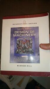 Design of Machinery 3rd edition International Edition