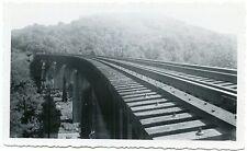 6D063 RP 1952 LOUISVILLE & NASHVILLE RR BRIDGE #41 SOUTH OF MP 101 SOUTH VIEW