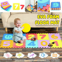 Baby Kids Crawling Mat EVA Child Puzzle Educational Foam Pad Floor Rug  \cn A*