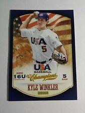 KYLE WINKLER 2013 PANINI USA BASEBALL CHAMPIONS CARD # 111 C2970