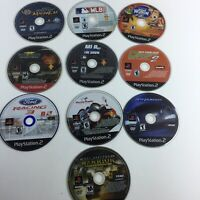 Lot of 10 PS2 Playstation 2 Games Driving Shooting Sports UNTESTED HG2