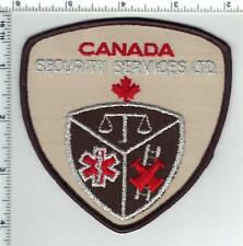 Security Services Ltd. (Canada) Shoulder Patch from the 1980's