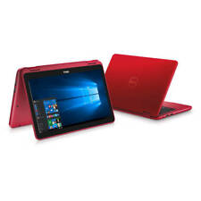 DELL Inspiron 11 3000 Series 3168 2-in-1 RED Touch Screen Windows 10 64Bit