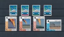 LM43901 Kuwait ships oil well fires fine lot MNH