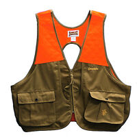 Gamehide Lightweight Upland Filed Bird Vest (Tan/Orange) PSV