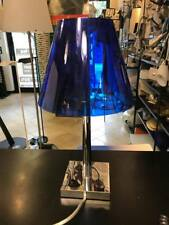 Rotaliana Dina led T1 cromo diff blu Lampada Tavolo/Comodino PROMO ESPOSIZIONE