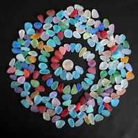 Tiny 10 Pieces Top Drilled Beach Sea Glass Beads Pendant For Jewelry Use