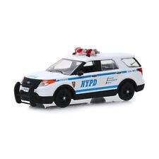 Greenlight 86167 Ford Police Interceptor Utility weiss/blau Maßstab 1:43 NEU!°