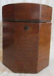 Vintage Alfred Dunhill Mahogany Octagon Pipe Tobacco Humidor