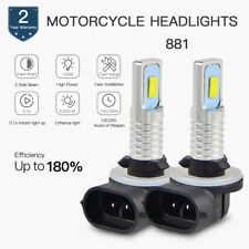 100W Golf Cart Replace LED Headlight Bulb Custom For Precedent Club Car DS 99-04